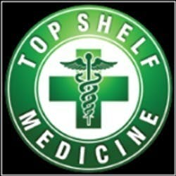 Top Shelf Medicine marijuana dispensary menu