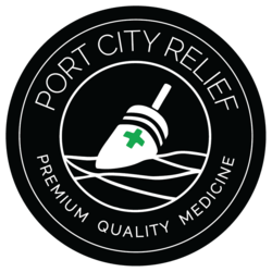 Port City Relief marijuana dispensary menu