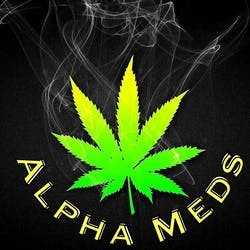 Alpha Meds marijuana dispensary menu