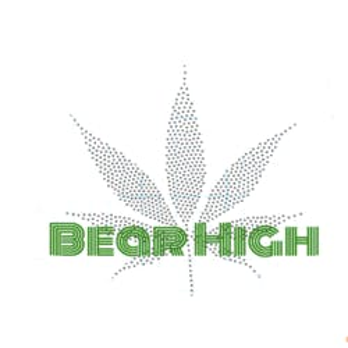 Bear High marijuana dispensary menu