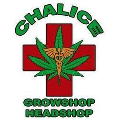 Chalice Headshop marijuana dispensary menu