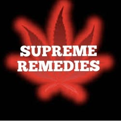 Supreme Remedies marijuana dispensary menu