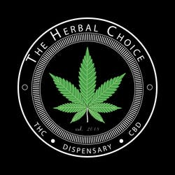 The Herbal Choice Open for Business marijuana dispensary menu