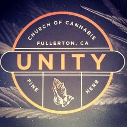 Unity Church of Cannabis marijuana dispensary menu