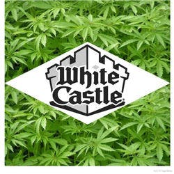 White Castle  Grand Opening marijuana dispensary menu