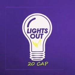 Lights Out 20 Cap marijuana dispensary menu
