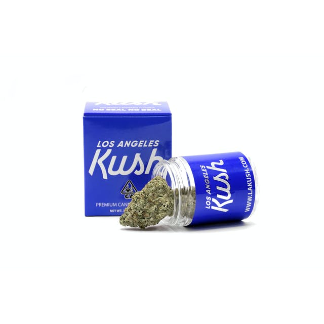 Los Angeles Kush La Kush Blue Box Weedmaps