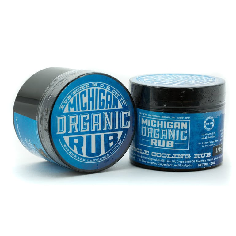 Michigan Organic Rub Organic Muscle Cooling Rub 300mg | Weedmaps