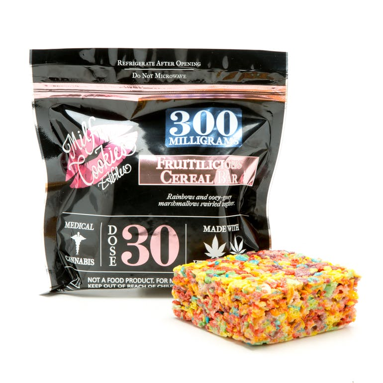 Milf n cookies fruitilicious cereal bar 300mg weedmaps fruitilicious cereal bar 300mg product image ccuart Image collections