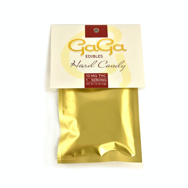 Gaga Edibles Hard Candy 10mg | Weedmaps