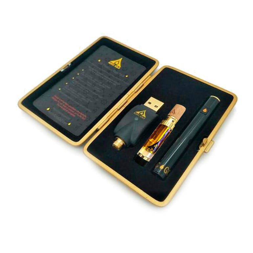 Auric Gold Birthday Cake Kush 14k Wickless Vape Pack Weedmaps