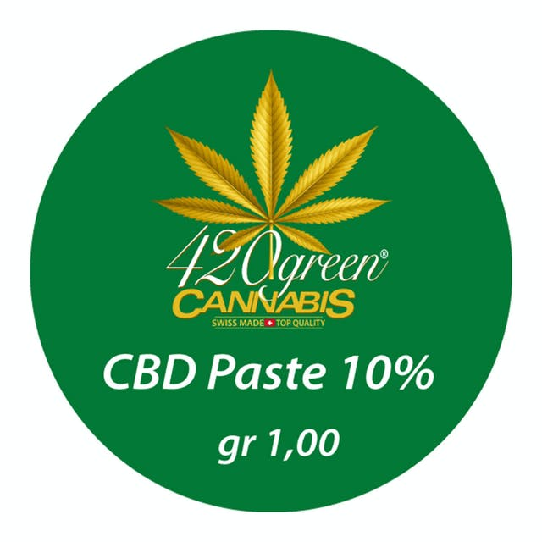 420 Green Cannabis CBD Paste 10% | Weedmaps