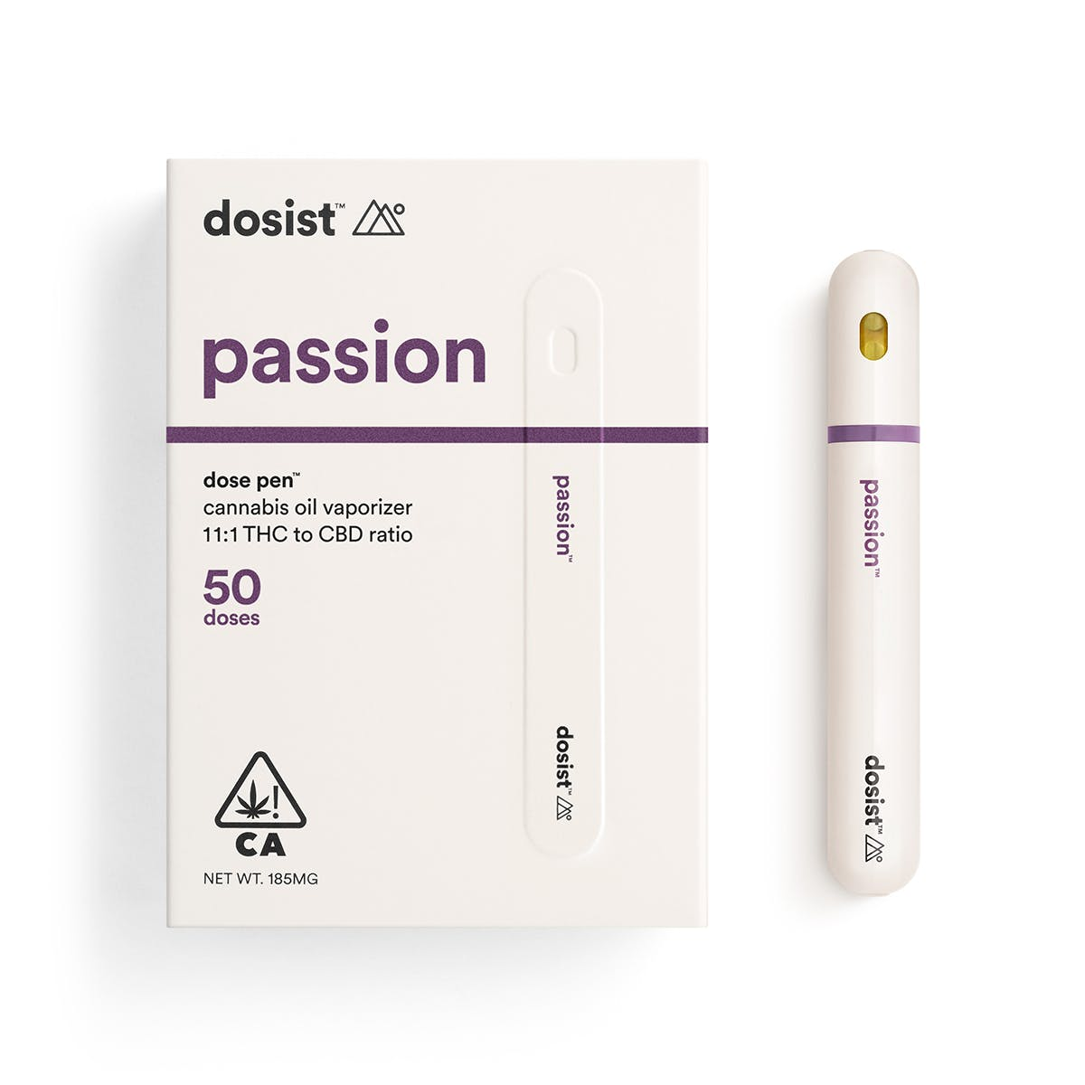 passion by dosist™ dose pen 50