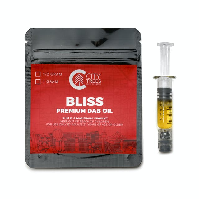 City Trees Bliss Premium Distillate Dab Oil Applicator