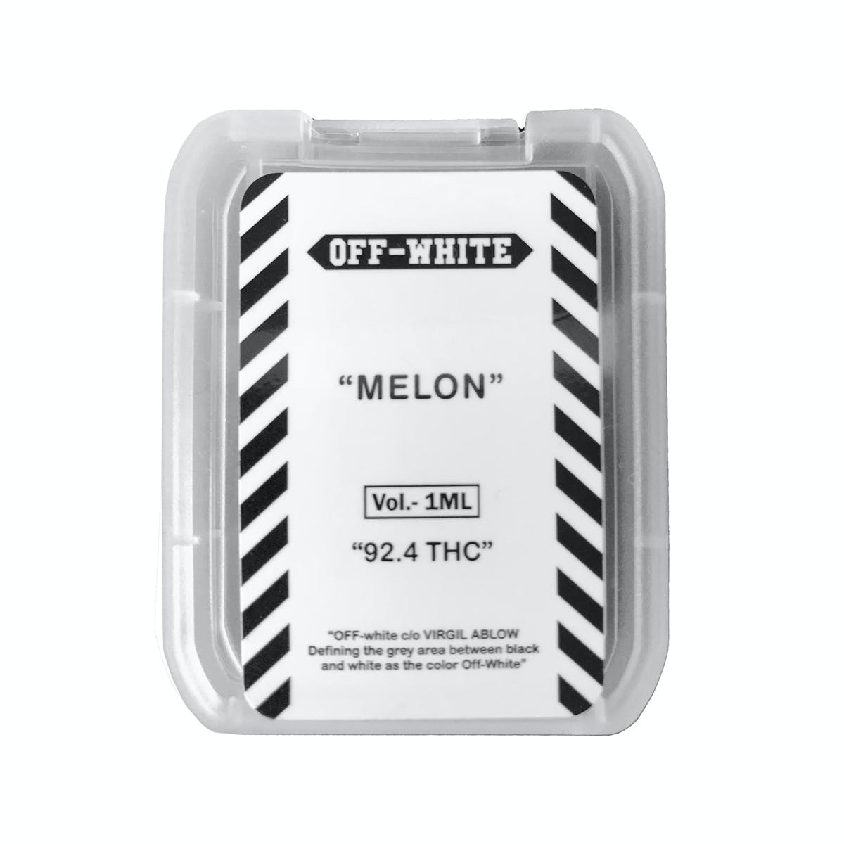 The Cannabis Candy Co  OFF-WHITE JUUL POD - Melon | Weedmaps