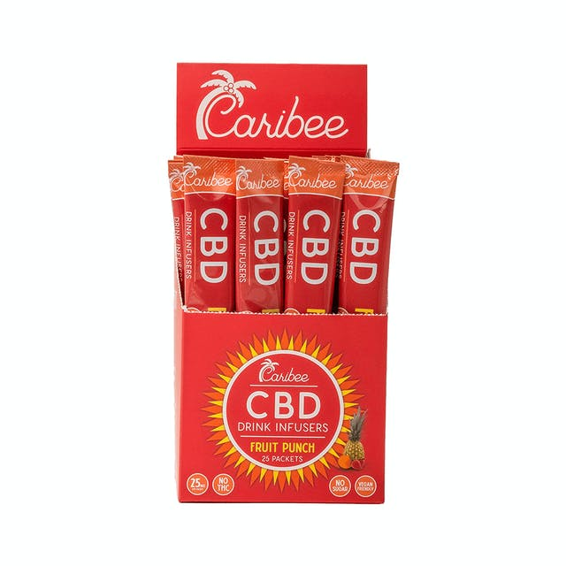Cbd Fruit Punch On The Go Drink Mix 25mg