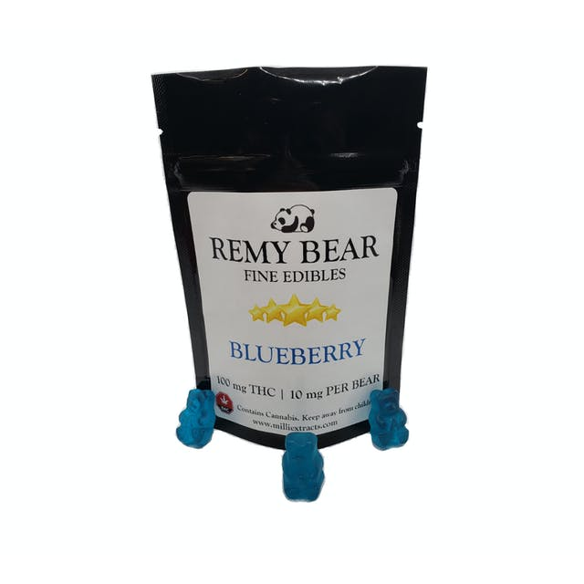 Milli Extracts REMY BEAR 100 mg THC – Blueberry | Weedmaps