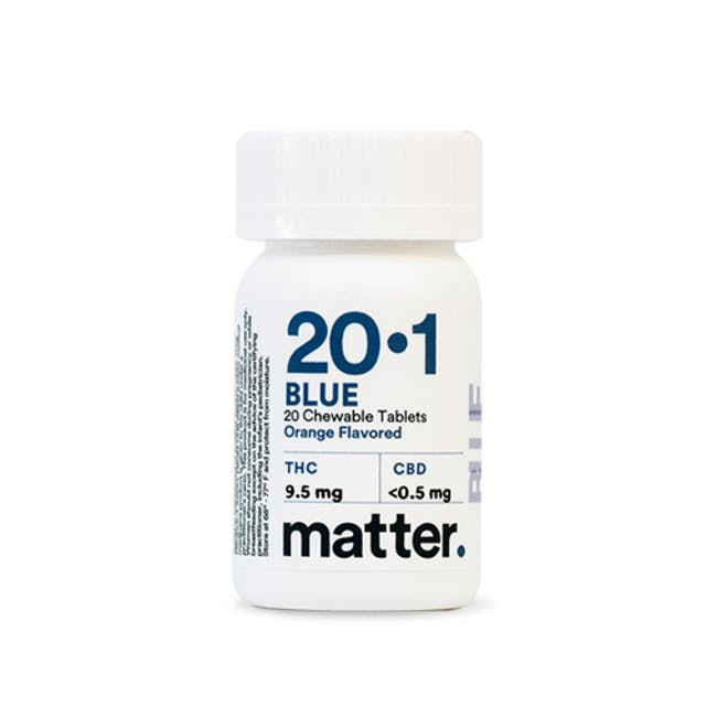 Matter Blue 20:1 Chewable Tablet | Orange Flavor | 20/CT