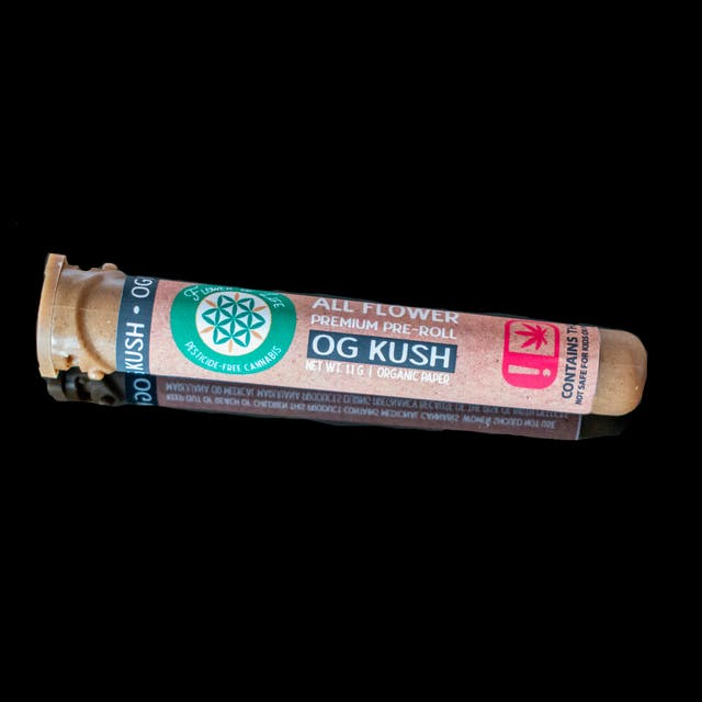 Flower Of Life Og Kush All Flower Pre Roll Weedmaps