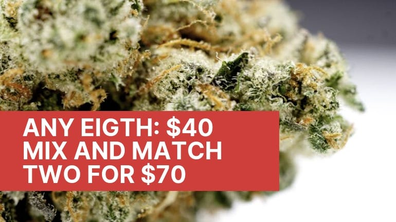 Trilogy Wellness $40 Eighths or Mix 2 For $70