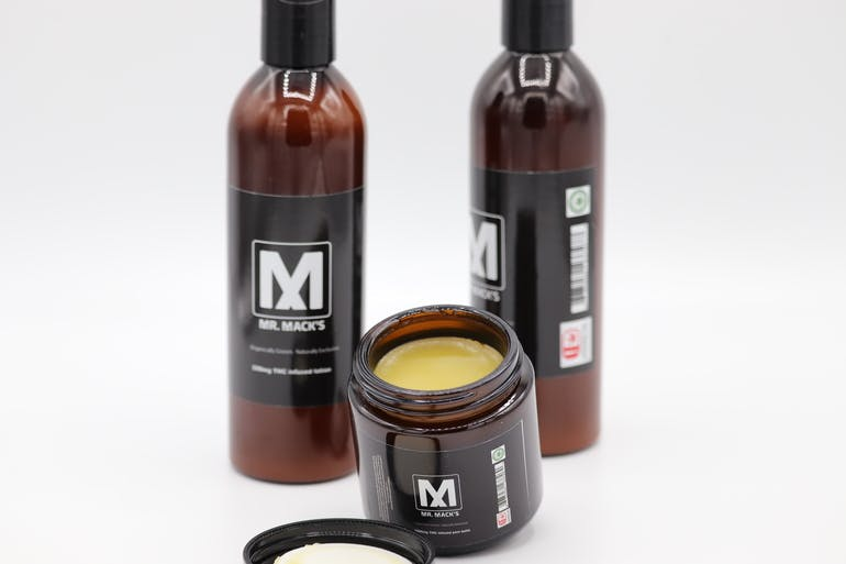 Mr. Mack's Cannabis Co. 25% off all topicals & tinctures