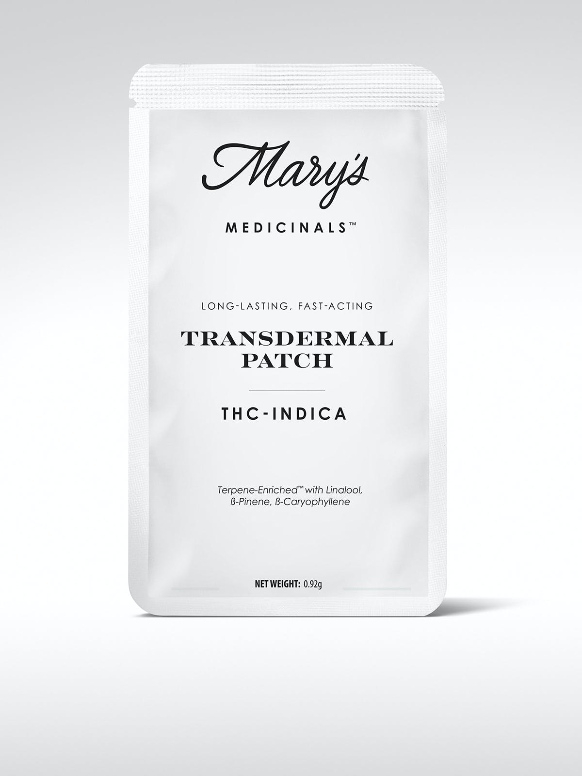 MARY'S MEDICINALS - Transdermal Indica Thc Patch