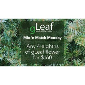 gLeaf Delivery Mix 'n Match Monday!
