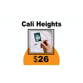 DC Collective Cali Heights Cartridge 1g $26