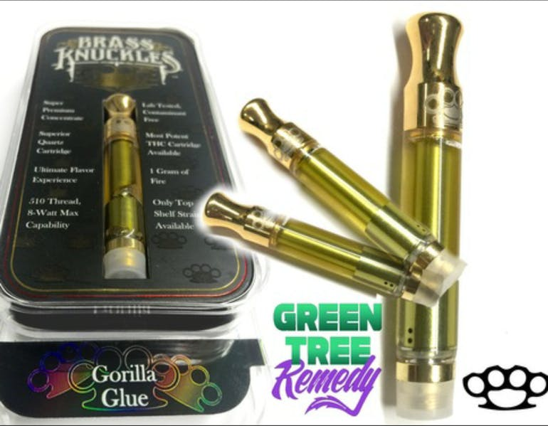 GTR GREEN TREE REMEDY BRASS KNUCKLES 2G FOR $85