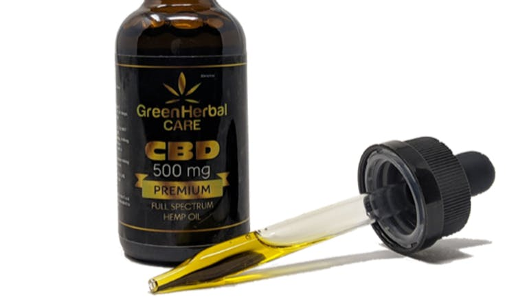 Green Herbal Care (Hemp CBD only) 10% Off GHC Oil 500mg