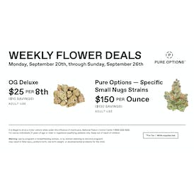 Pure Options Lansing South Weekly Flower Deals
