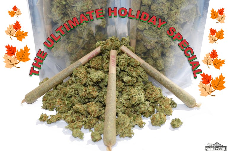 Smoakland - Berkeley ULTIMATE HOLIDAY SPECIAL $99$