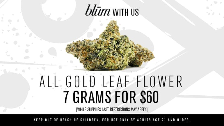 Blüm Las Vegas | Desert Inn 7 Grams for $60