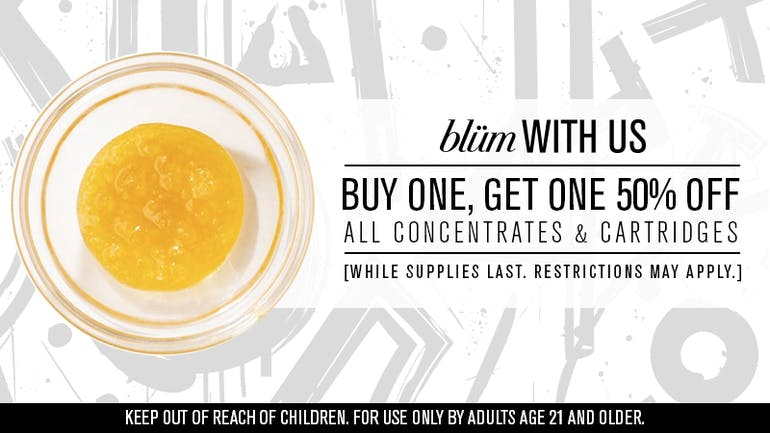 Blüm Las Vegas | Desert Inn Buy One, Get One 50% Off