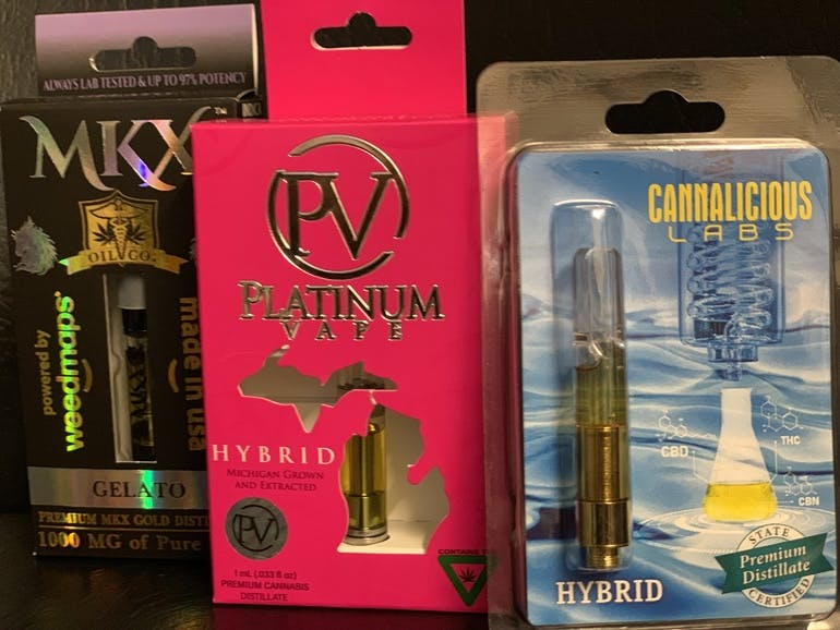 Homegrown Cannabis Company Buy 3 1g carts for $105