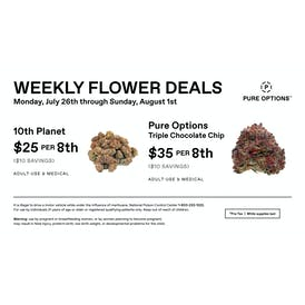 Pure Options Lansing East Weekly 8th Deals