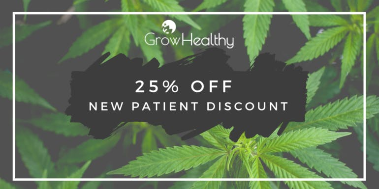 GrowHealthy - Orlando First Time Patients 25% Off