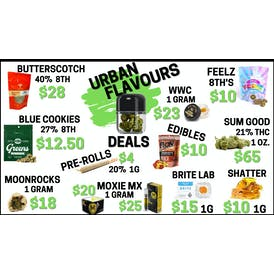 Urban Flavours Delivery ⛽ FRESH DROP $10 8TH'S