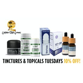 Golden State Greens Point Loma - Mission Valley Tincture & Topical Tuesdays