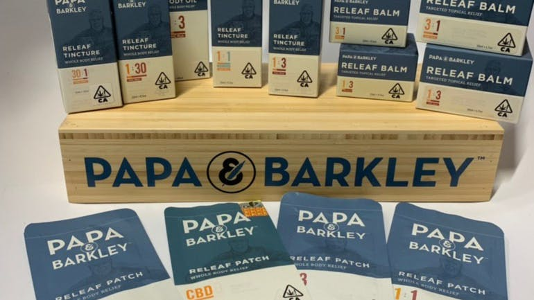 Project Cannabis DTLA 15% off Papa & Barkley Products