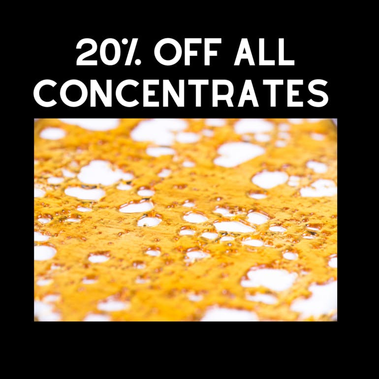 Southern Maryland Relief 20% OFF ALL CONCENTRATES