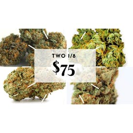 GREEN CROSS DELIVERY Buy two Premium 1/8 $75
