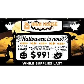 High House Dispensary in Midwest City HALLOWEEN SPECIAL!! $99