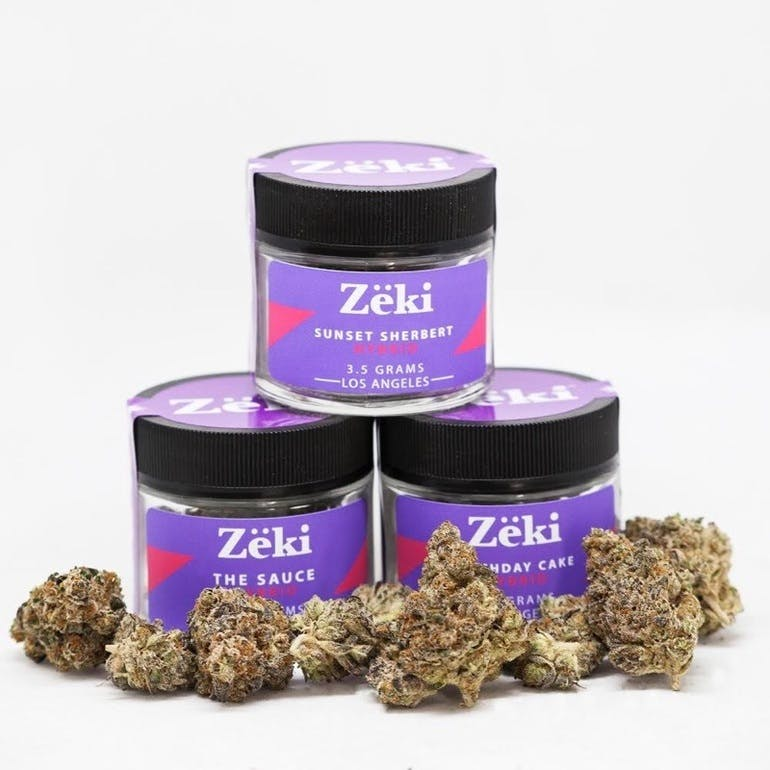 Urban Treez - Adult Use 20% OFF Zeki 1/8ths and Grams