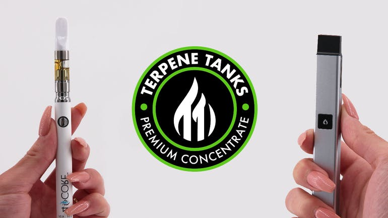 Exclusive Provisioning Center TERPENE TANKS CARTS/PODS 3/$90