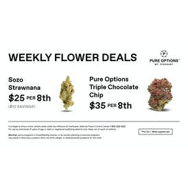 Pure Options Mt. Pleasant Weekly 8th Deals