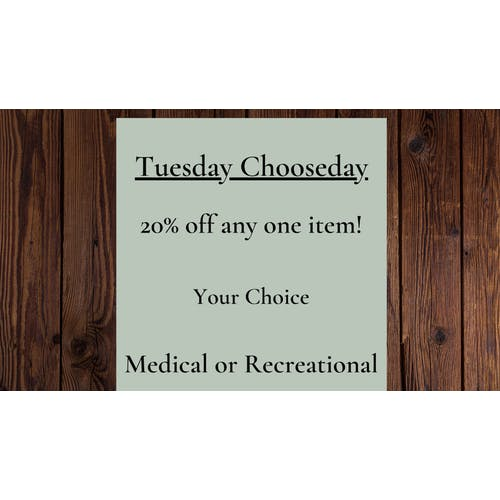 Exit 9 Provisionary Tuesday Chooseday and More!