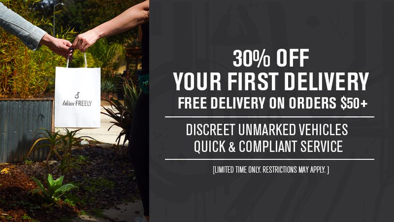 Blum Delivery - Irvine 30% Off Your First Delivery!