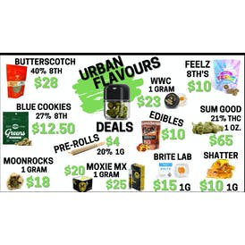 Urban Flavours Delivery - Monterey ⛽ FRESH DROP $10 8TH'S