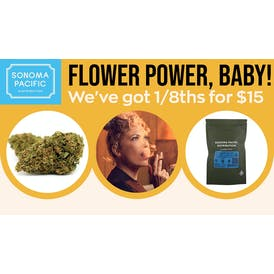 Mankind Dispensary $15 1/8ths at Mankind!